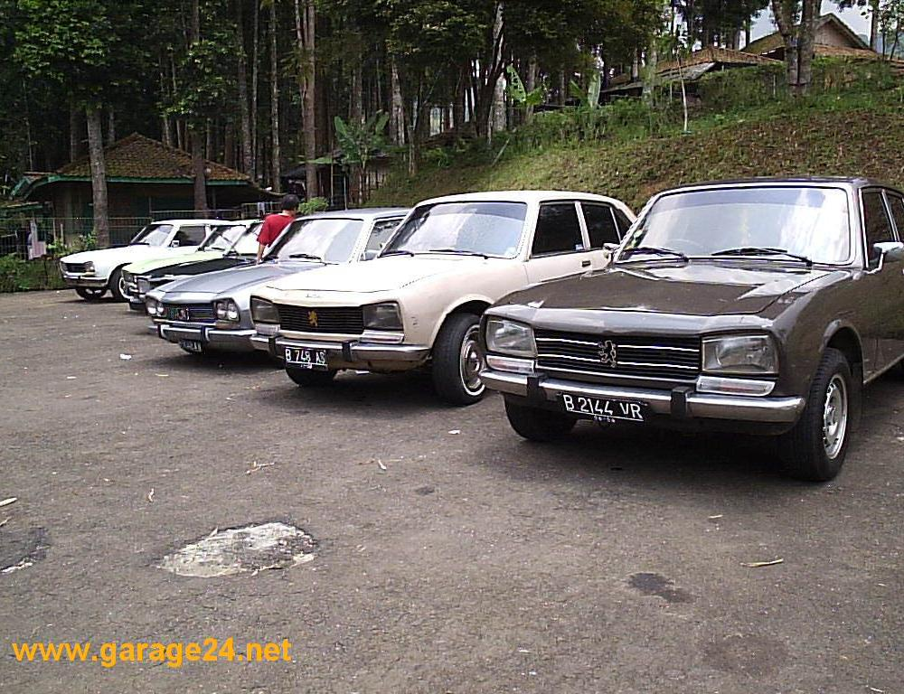 "click on image to enlarge. On September 24th - 25th 2004, the ""PEUGEOT 504"