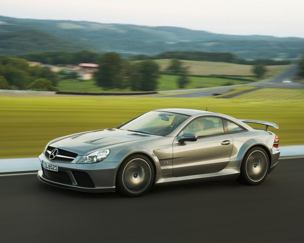 Mercedes-Benz SL-Class SL 65 AMG Black Series Author: stream