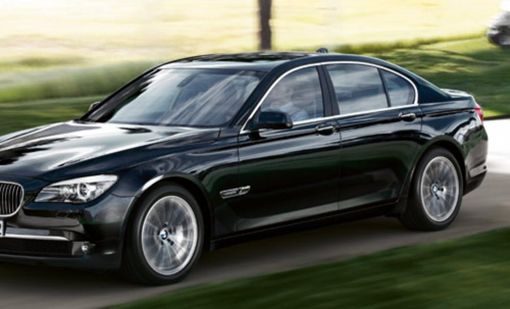 on the BMW 730d. Normal tyres are constantly flexed during use,