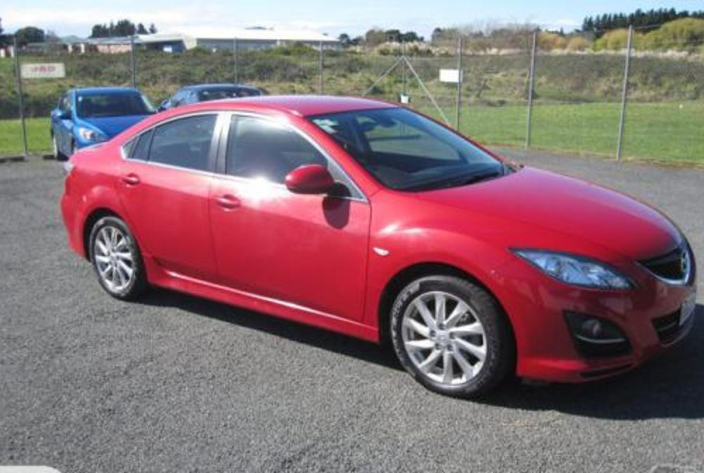 """Mazda 626 GSX 2011"". Photo may not be of this vehicle but of a similar"