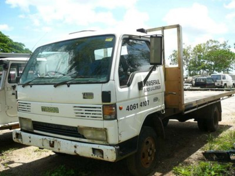 Mazda T4000 truck same as Ford Trader runs a 6 cylinder diesel