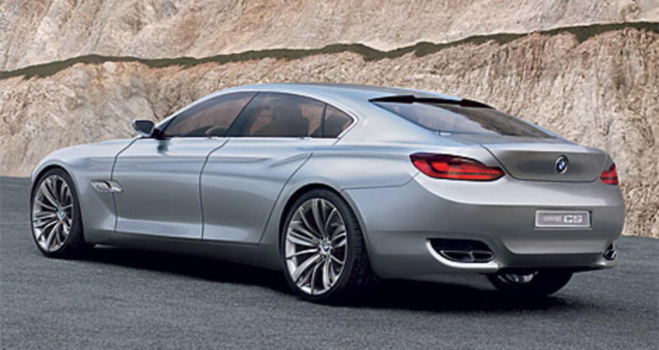 The new luxury sedan 2013 four doors BMW Concept CS cars picture gallery