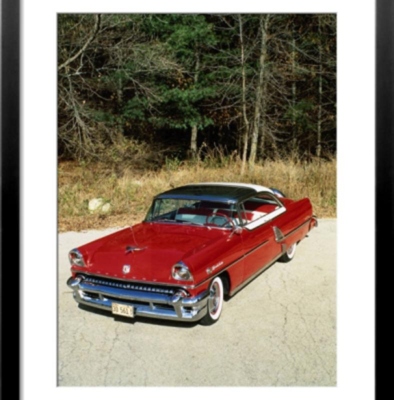 1955 Mercury Montclair Sun Valley Framed Print. View: Larger Image
