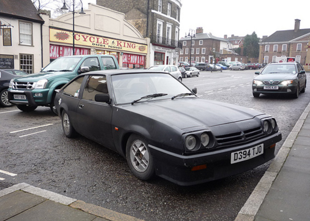 1986/87 Opel Manta Berlinetta. I had to go on a mega trip around town to get