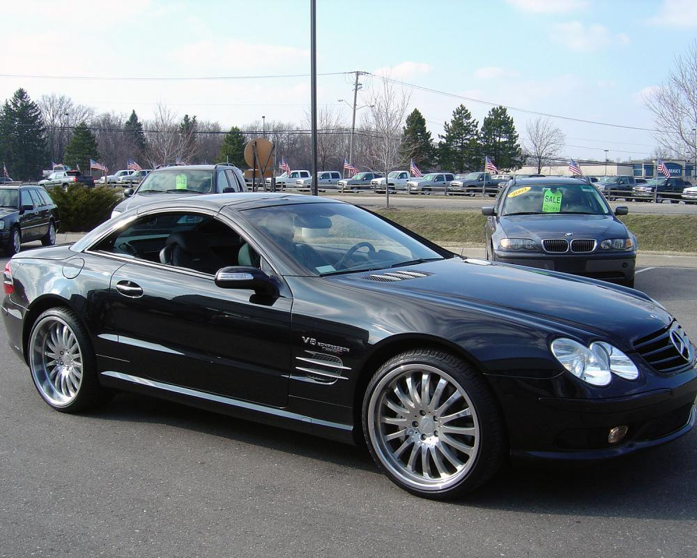 Mercedes-Benz SL 55 AMG 476hp AT