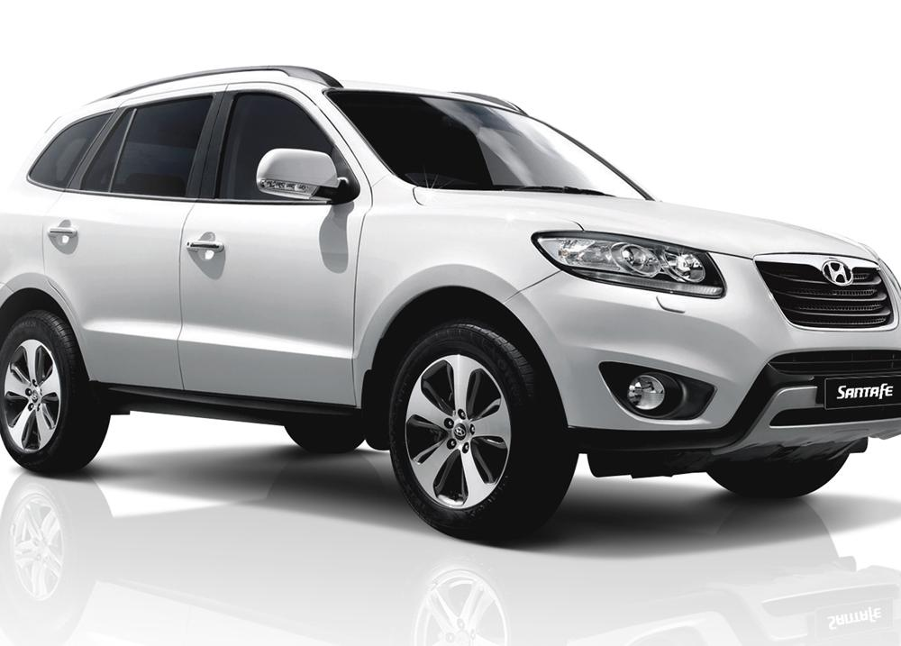 The Hyundai Santa Fe (Korean: 현대 싼타페) is a mid-size crossover SUV based