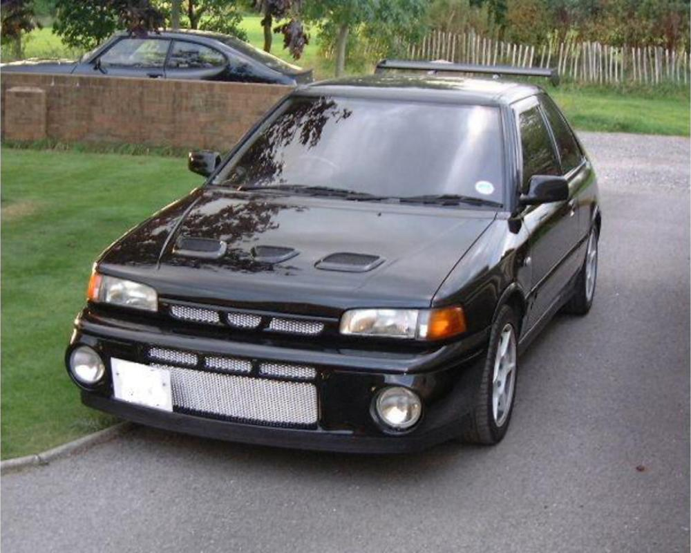 Mazda 323 GT - huge collection of cars, auto news and reviews, car vitals,