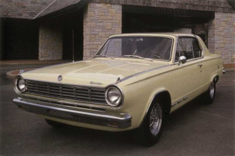 The 1965 Dodge Dart GT 273 featured bucket seats, a console,