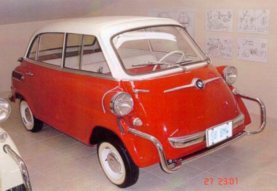 BMW Isetta 600 - huge collection of cars, auto news and reviews, car vitals,