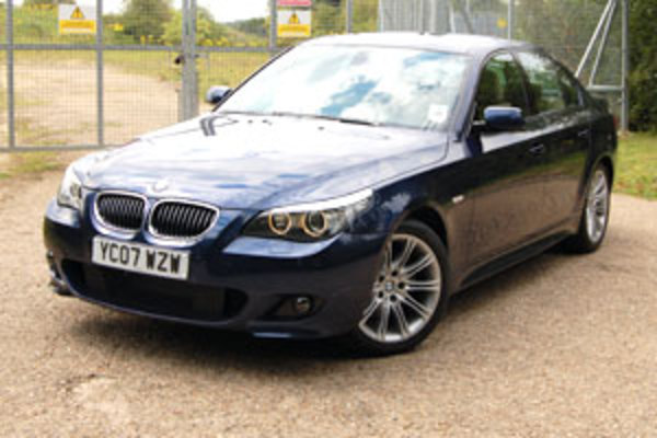 the roof. We opted for the M Sport version of the 530d, which offers a