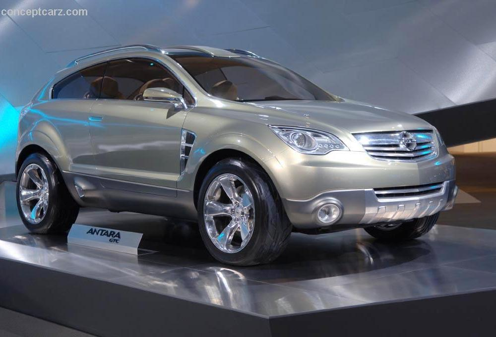 2006 Opel Antara GTC Images, Information and History | Conceptcarz.com