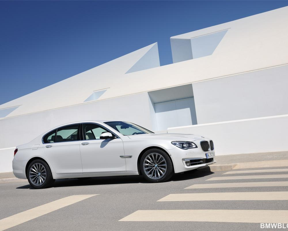 World Premiere: 2013 BMW 7 Series Facelift