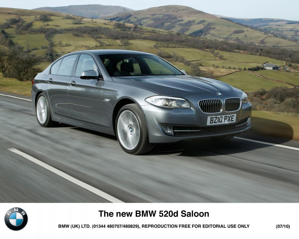 BMW 730Ld wins the Professional Driver Car of the Year Awards 2011
