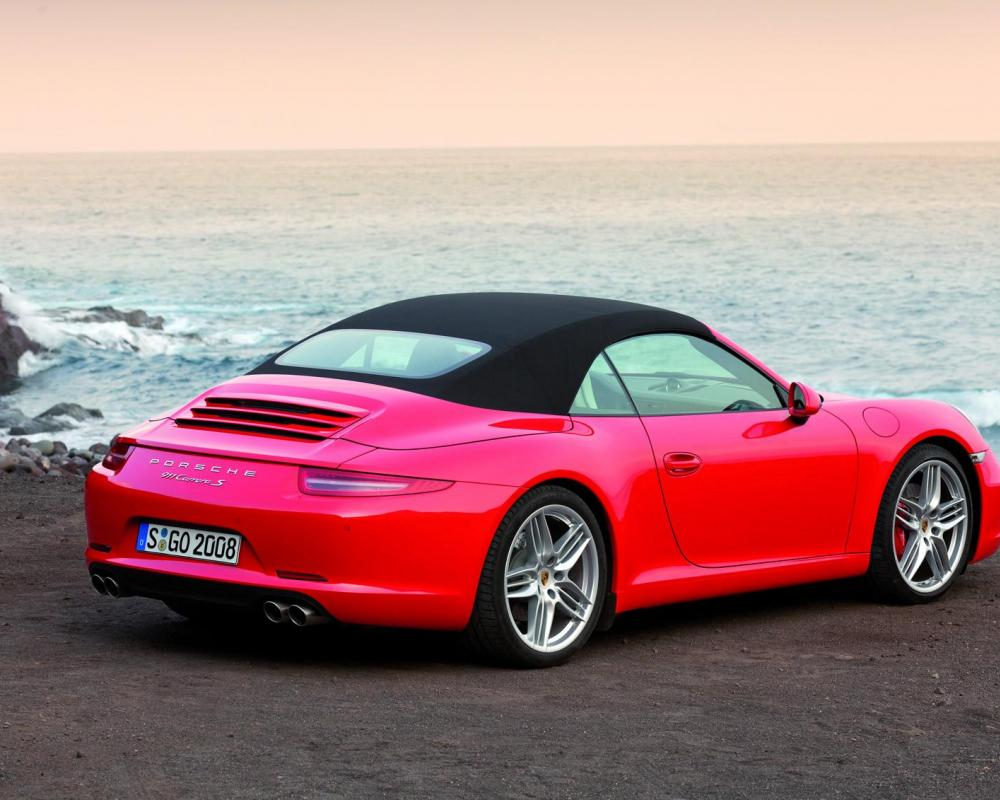 2012 Porsche 911 Carrera Cabriolet set for Detroit debut