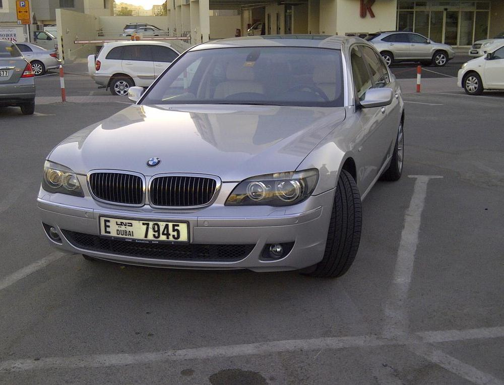 BMW 730iL - 2008 model - 57000 kms run only for SALE - (AED 115,000)