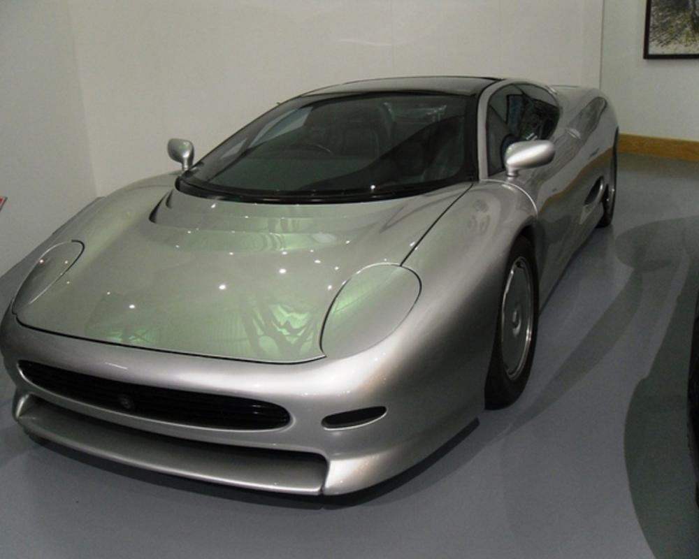1988 Jaguar XJ220 Concept Car. Seen at the Heritage Motor Centre