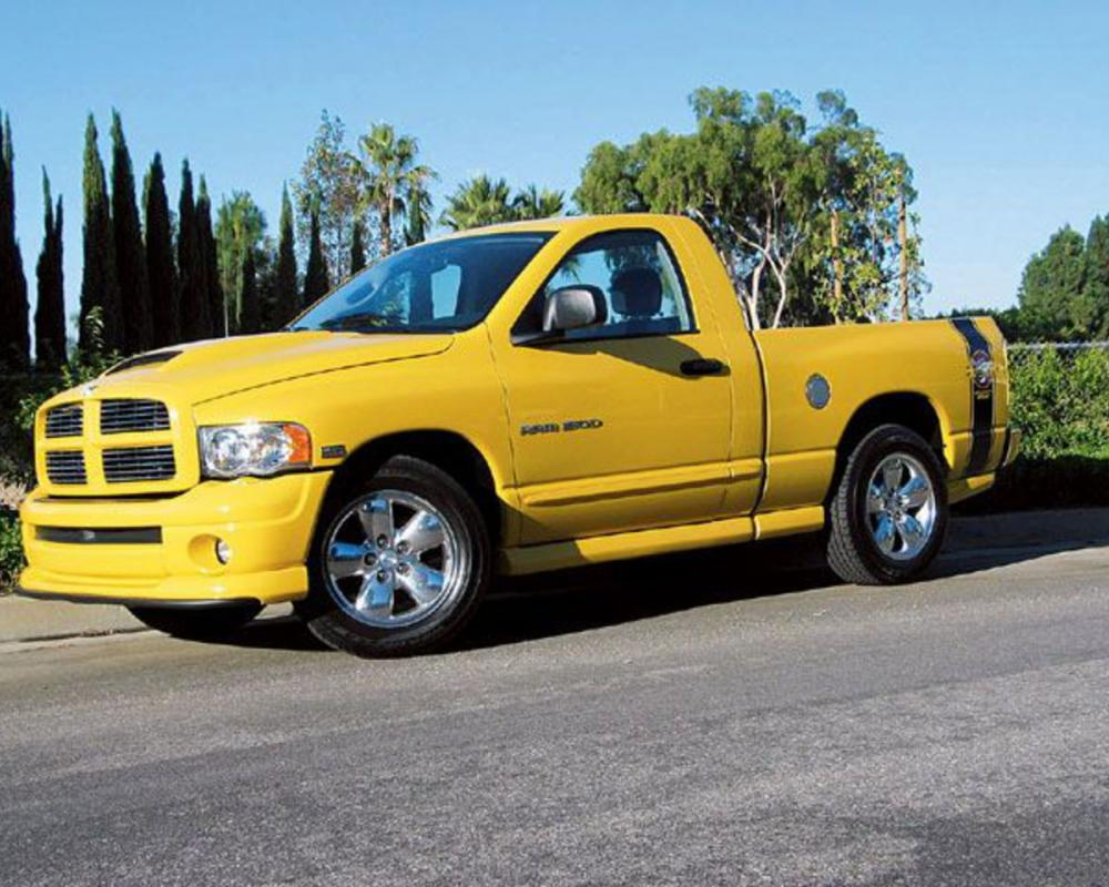 Dodge Ram 1500 SLT Rumble Bee - huge collection of cars, auto news and