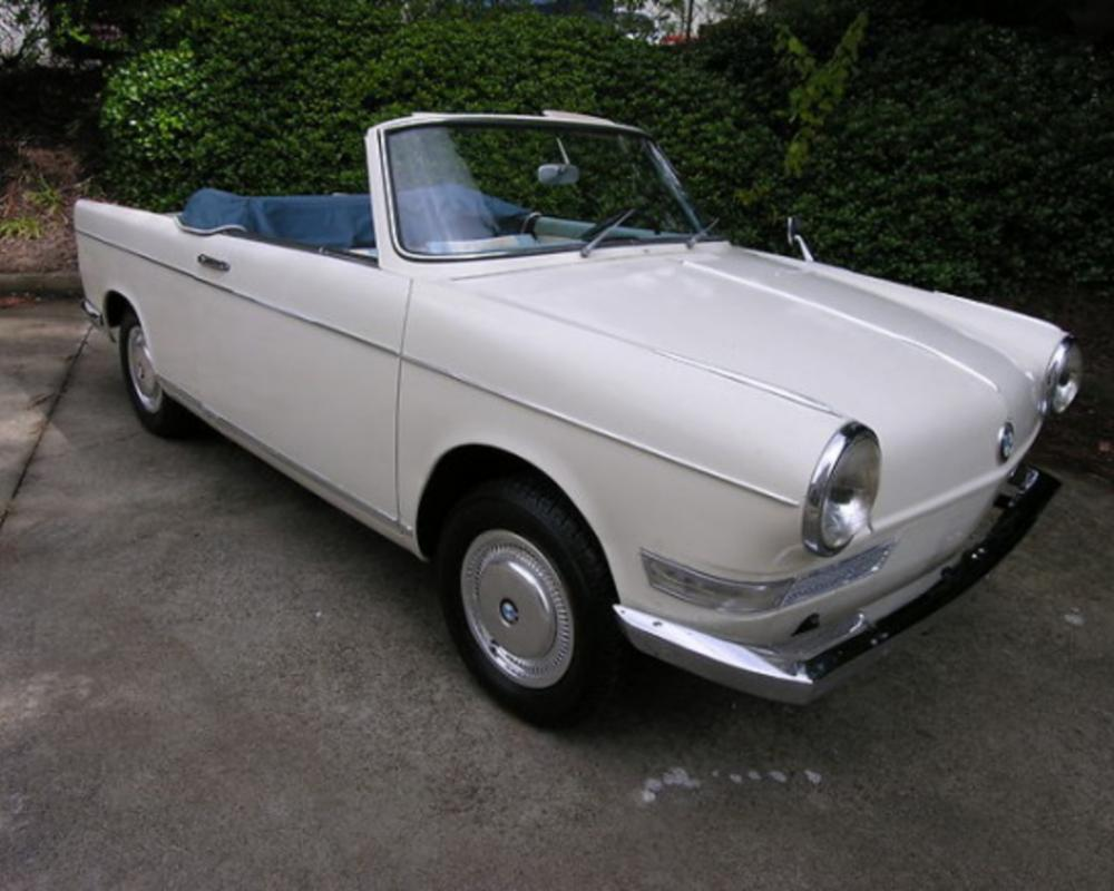 1963 BMW 700 Cabriolet For Sale Front. These cars do have some Amphicar cues