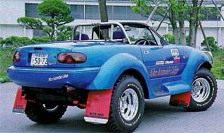 Mazda Miata SUV According to Autoblog, a preview of a Mazda Miata (MX5) is