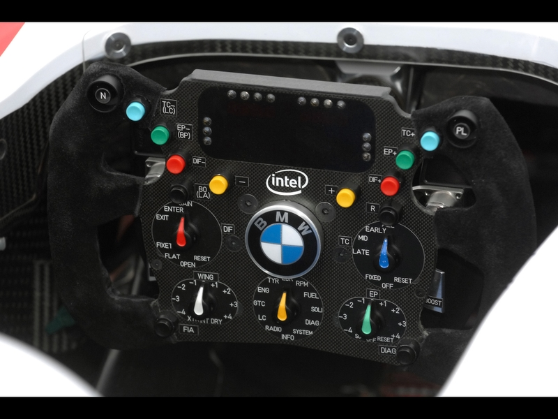 2007 bmw sauber f107 steering wheel 1920x1440 2007 bmw f107 1920x1440