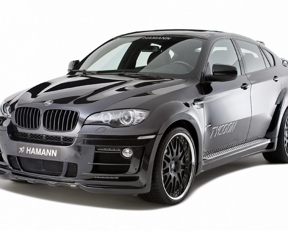 Download This High Resolution Picture of the HAMANN BMW X6 Tycoon