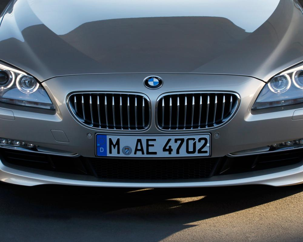 2012 BMW 650I Xdrive Convertible Front Grille