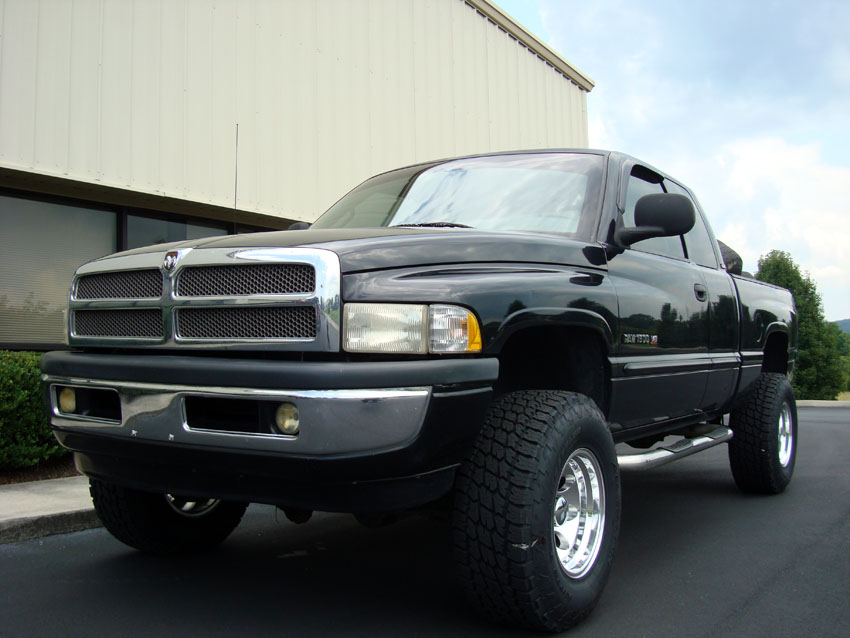 Installed - New Shocks & Tires on a 98 Dodge Ram 1500 4x4