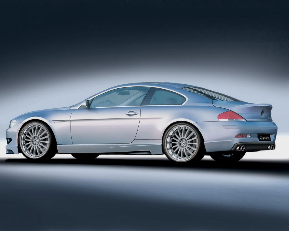 G-Power G6 Coupe based on BMW 645i 2005