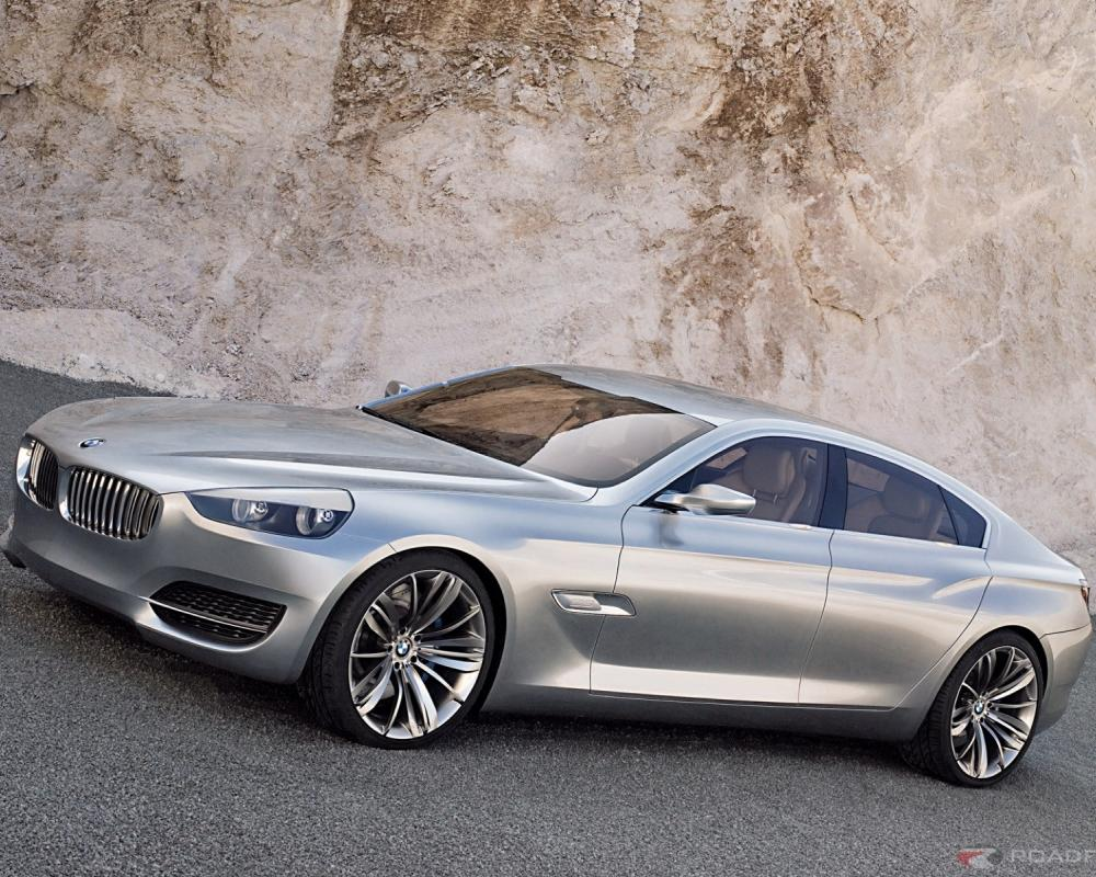 More than any other sedan in the past, the body design of the BMW Concept CS