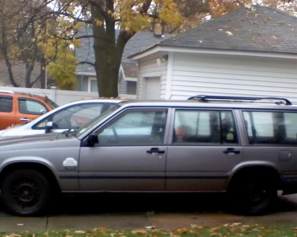1992 Volvo 740 Wagon w/3rd row seat - Non Turbo