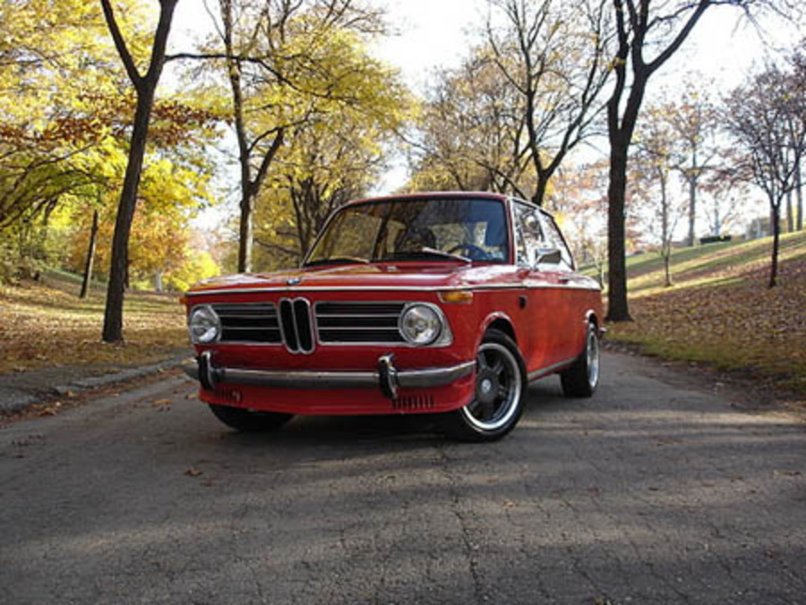 One Mr. Murden Mitten provided us with some photos of his 1968 BMW 1600 and