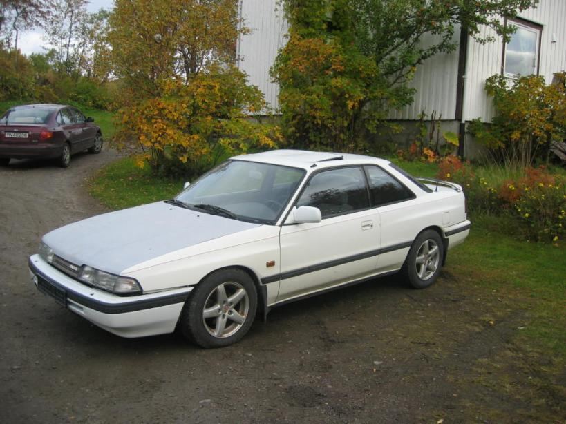 """my second mazda 626 Coupe"""
