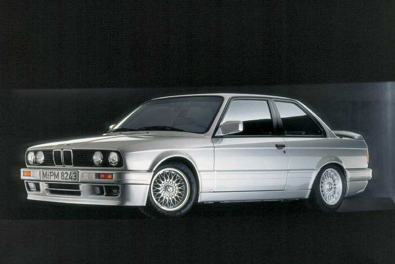 The E30 320is is a special 3 Series model that was sold exclusively in Italy