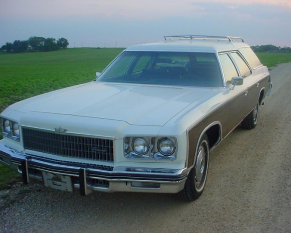 1975 Chevrolet Caprice Estate Wagon