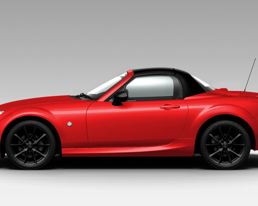 2012 Mazda MX 5 Miata Special Edition Velocity Red Profile