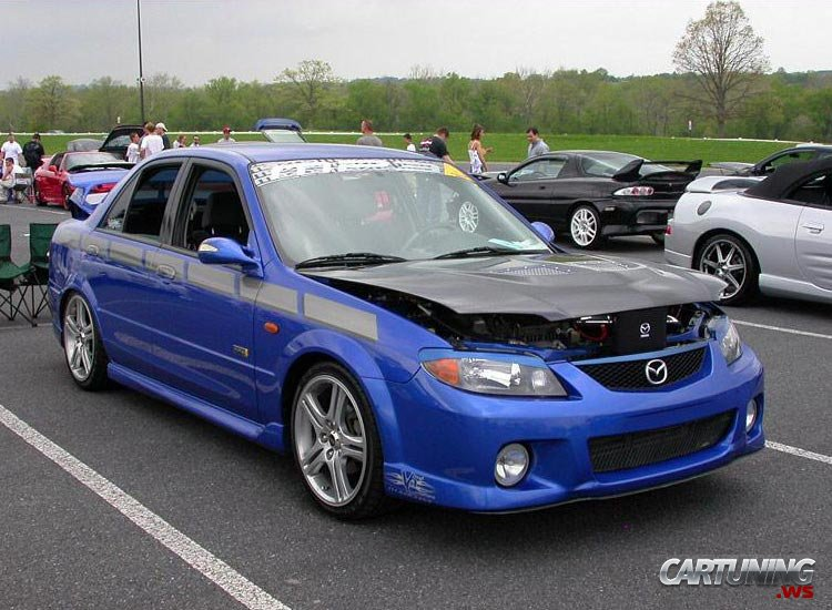 Tuning Mazda 323 » CarTuning
