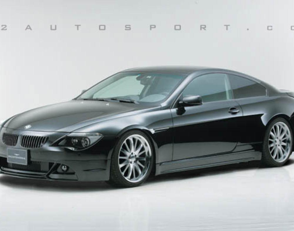 BMW 645i. COMPONENTS INCLUDE: FRONT SPOILER, SIDE SKIRTS,