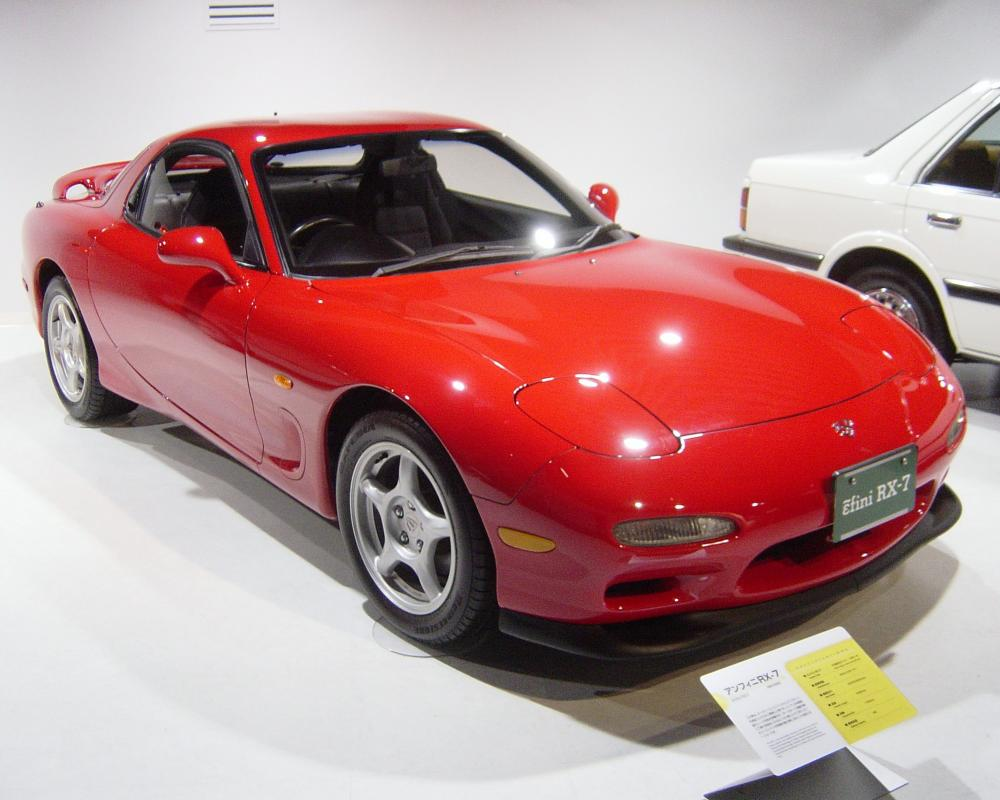 Mazda RX-7 FD The third generation of the RX-7 (FD) featured an all new