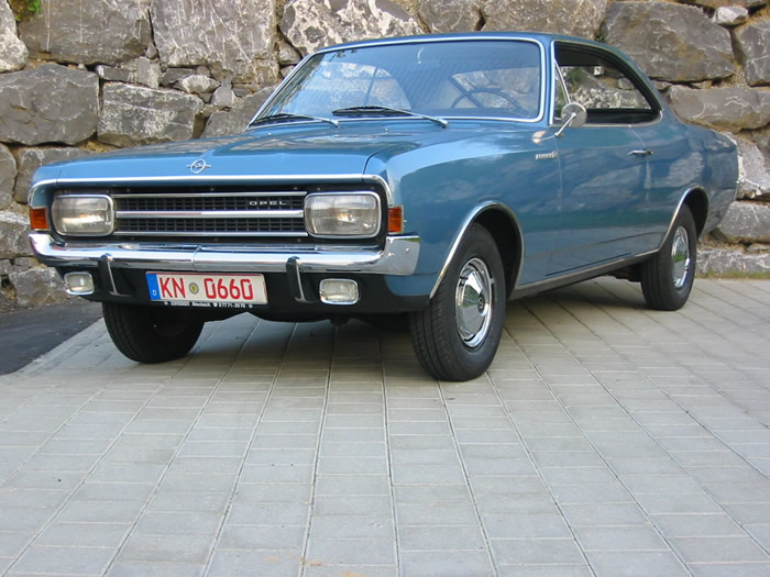 You can vote for this Opel Record photo