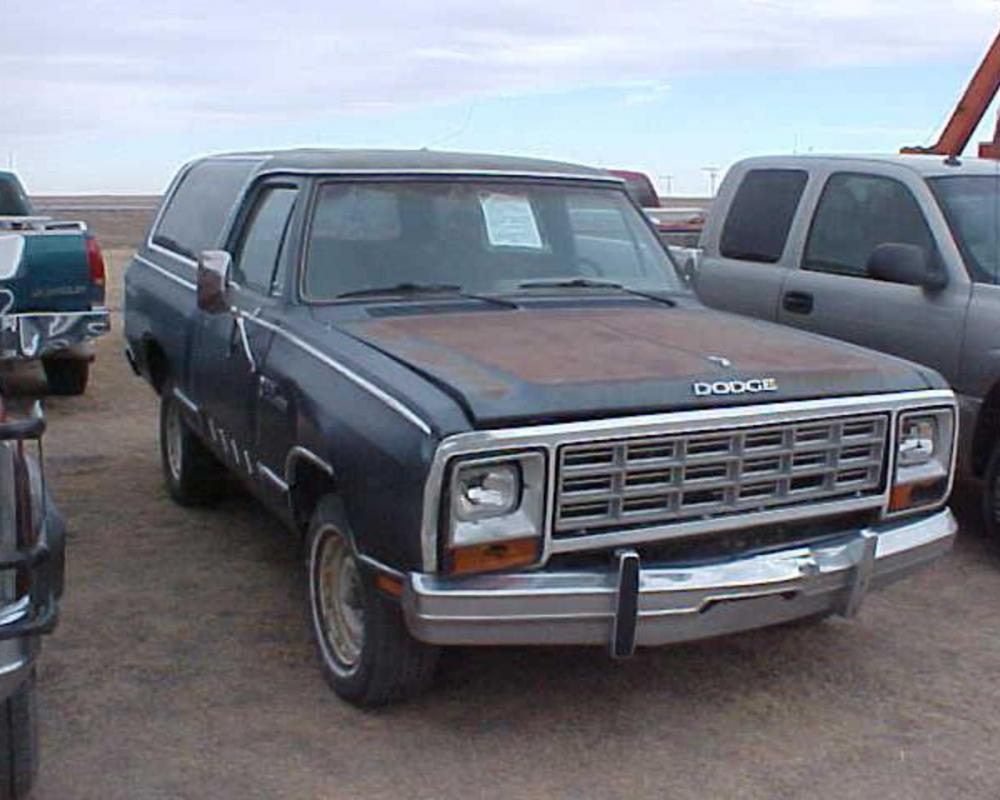 1985 DODGE RAM CHARGER PROSPECTOR. Currency:USD Category:Everything Else