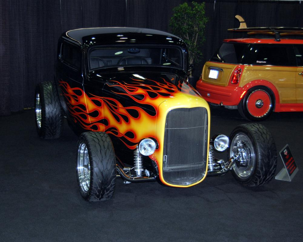 32 Ford streetrod FLAMES by ~Partywave on deviantART