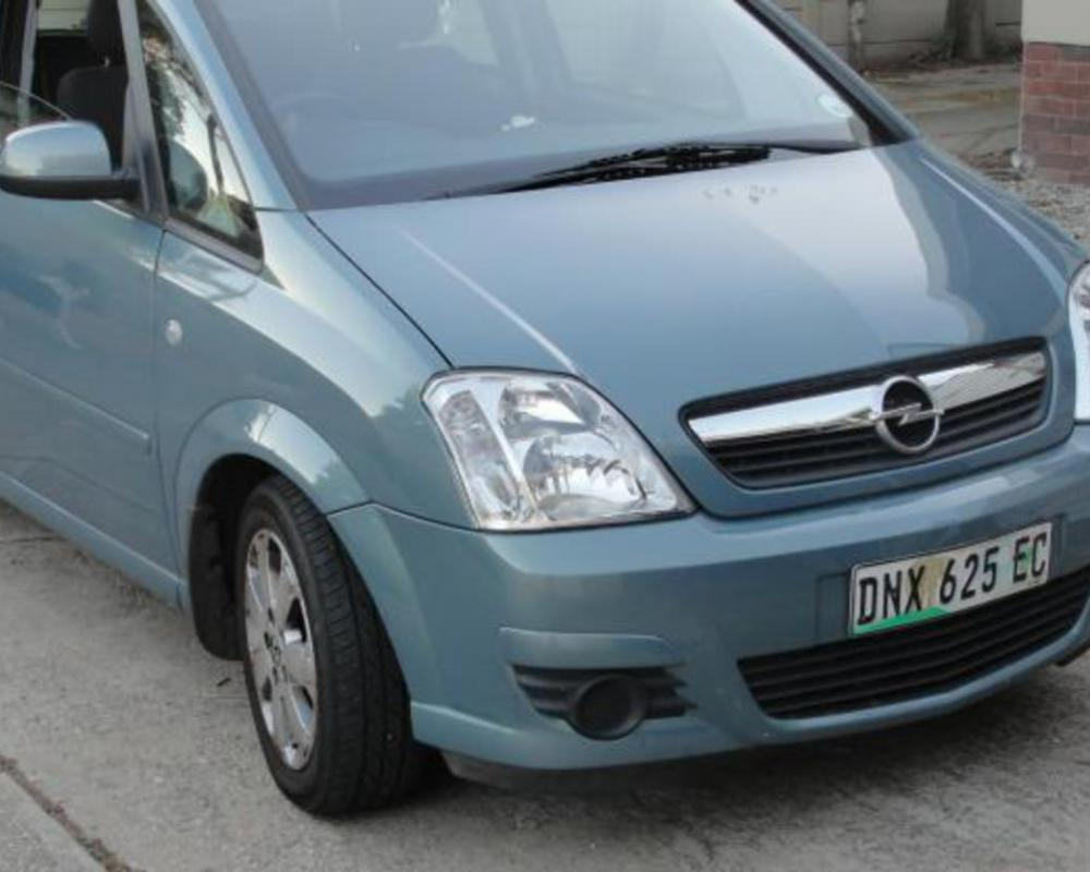 Pictures of 2006 Opel Meriva 1.7 CDTi