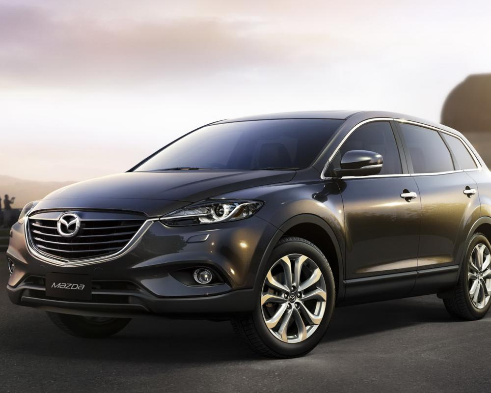 2013 Mazda CX-9 World Premiere. Looks like mainly a cosmetic update for now.