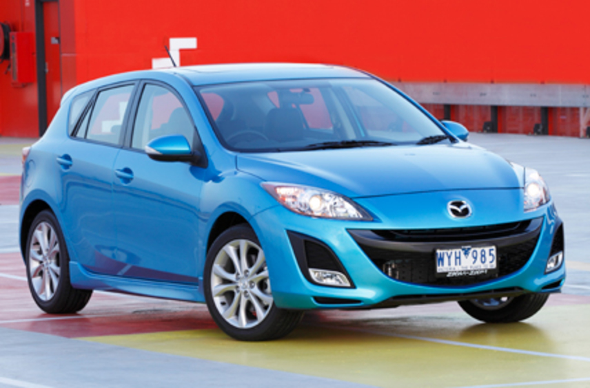2009-on Mazda 3 SP25, from $15,390*. The SP25 isn't a firecracker like its