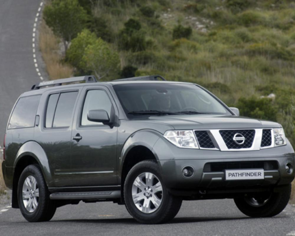 Used Nissan Pathfinder. One of types that much sought-after by the Japan