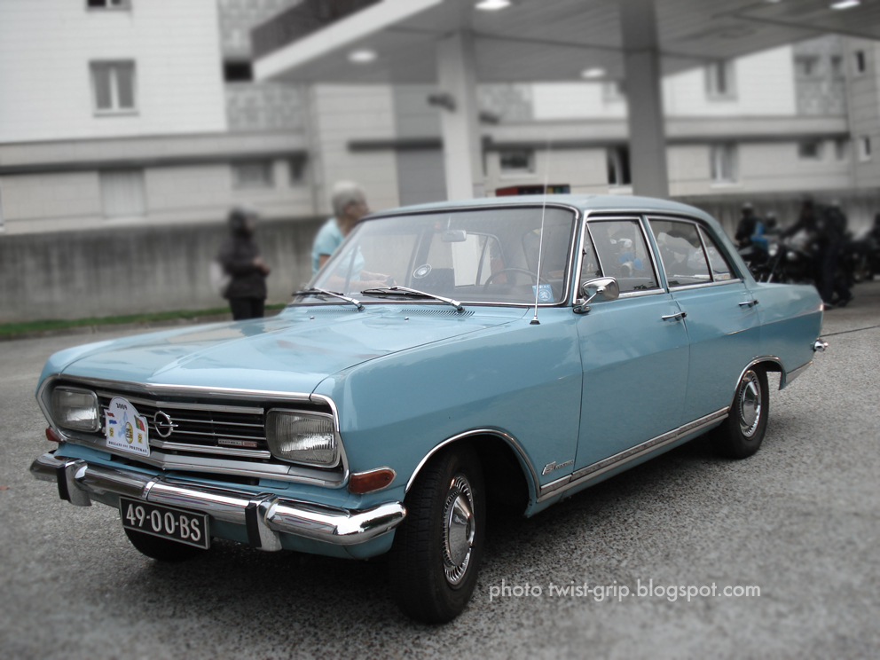 Opel Rekord B6. Today, another post from my friend at OtherDrive,