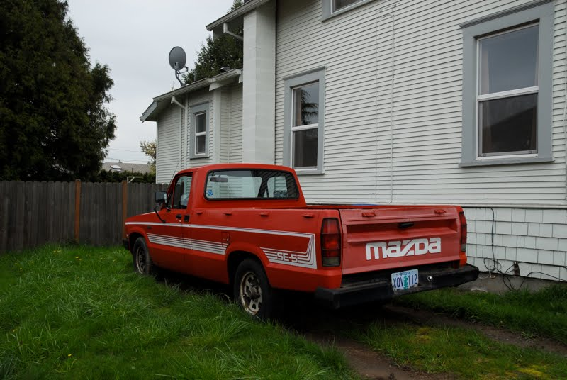 1984 Mazda B2000 SE-5 Pickup. posted by Ben Piff
