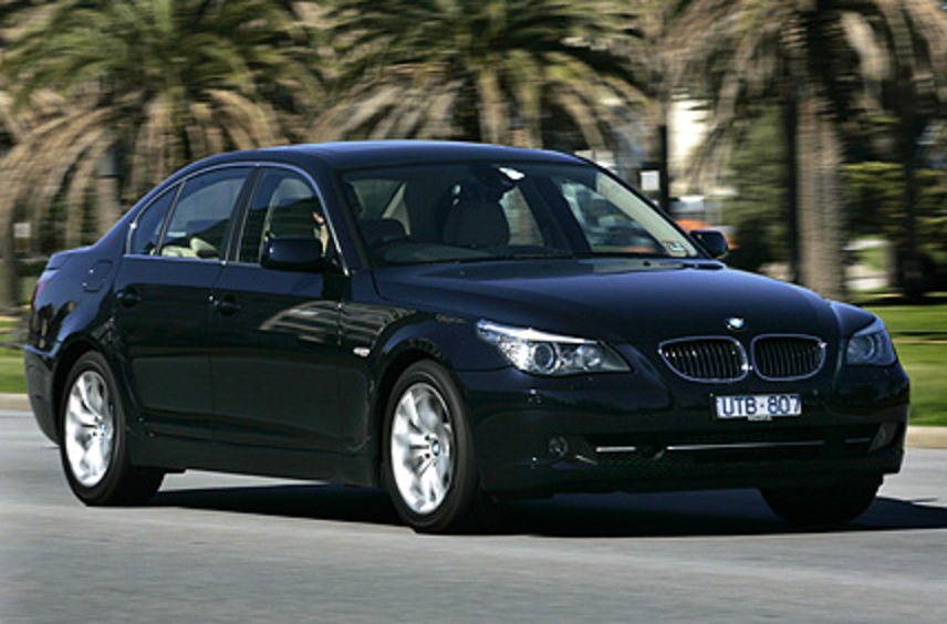 On the surface, the new BMW 530i is similar to its predecessor. Pictures: