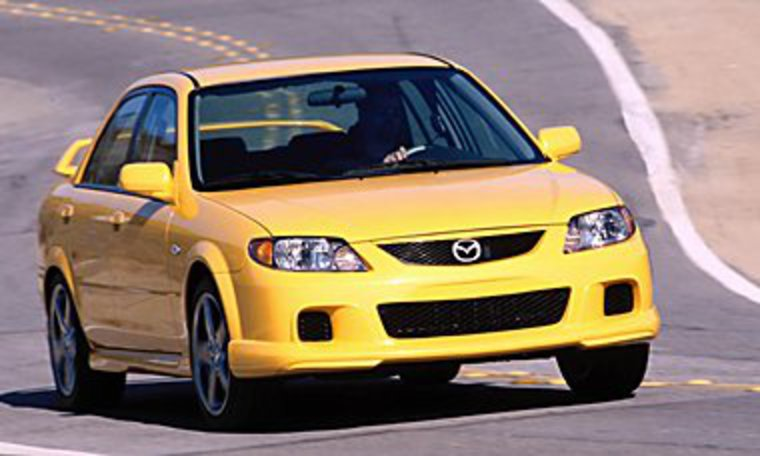 2003 Mazda Protege pictures