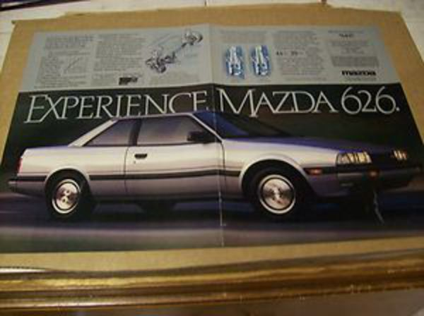 1984 Mazda 626 Sport Coupe Advertisement Vintage Ad | eBay